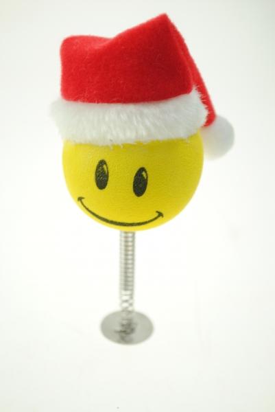 Aerial Ball Smiley Santa