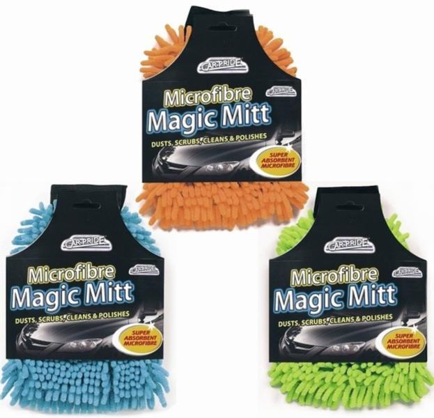 Mega car clean mitt