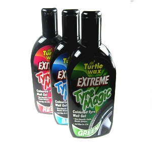 turtle wax extreme tyre magic, red finish