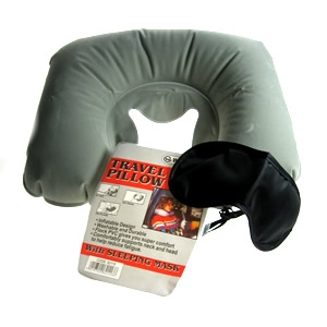 travel pillow with sleeping mask