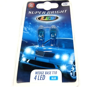 501 LED bulbs blue