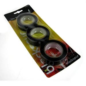 black 3pc pvc tape