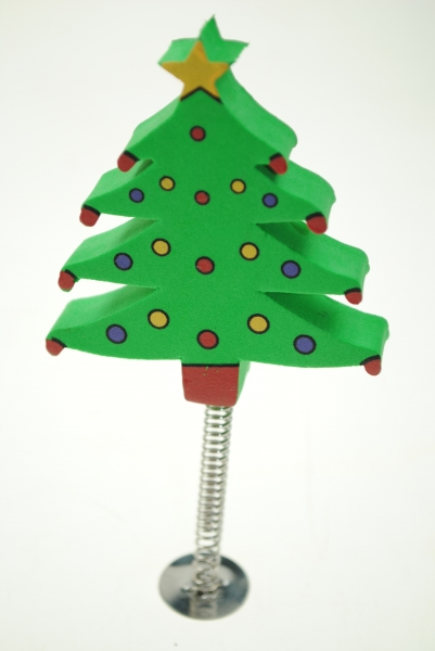 aerial ball christmas tree