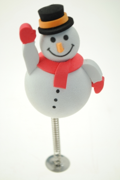 Aerial Ball Christmas Snowman