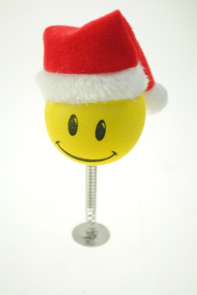 Aerial Ball Smiley Santa