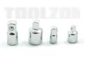 Toolzone 4 pc Adaptor set