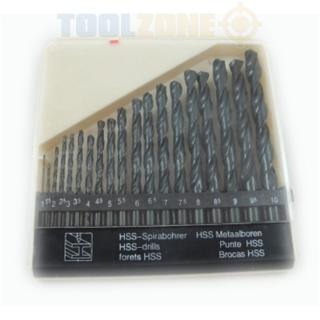 Toolzone 19Pc HSS Drill Set