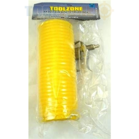 Toolzone Air Dust Gun with Recoil Hose