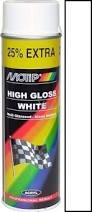 Motip High Gloss White 500ml aerosol
