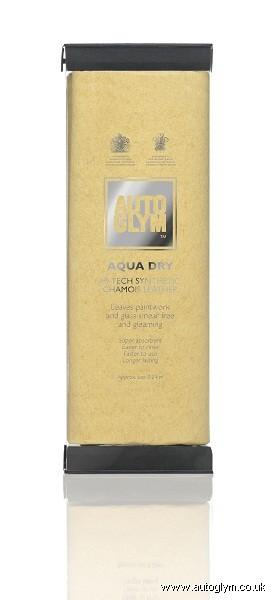 autoglym aqua-dry hi-tech synth. chamois leather