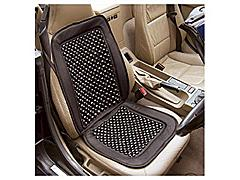 wooden beaded seat cover