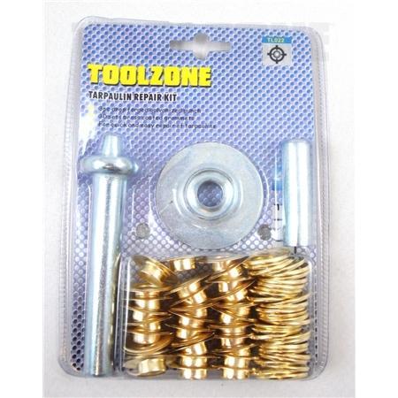 toolzone tarpaulin repair kit