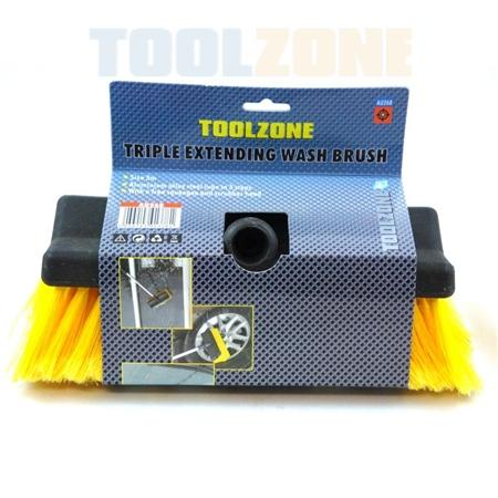 toolzone telescopic wash brush &squeegee
