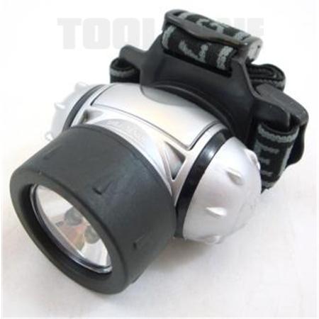 toolzone 6 Led and 1 krypton headlamp