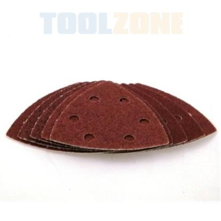 toolzone 10pc delta sanding sheets
