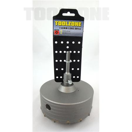 toolzone 150mm core drill