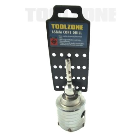 toolzone 65mm SDS plus core drill