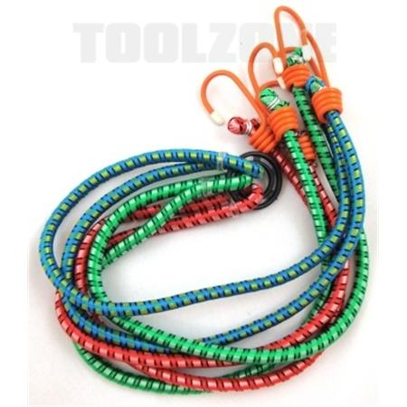 "toolzone 3pc 40"" bungee with ring"