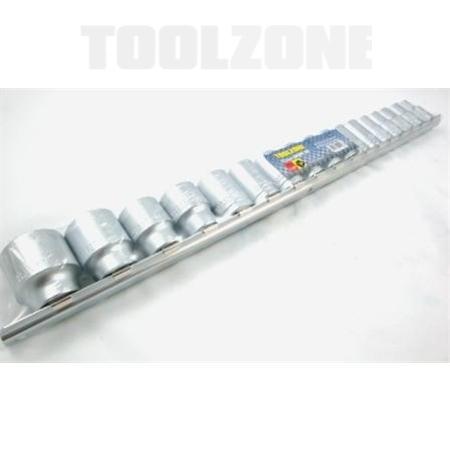toolzone 17pc socket set