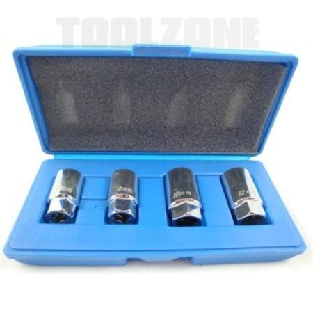 toolzone 4pc stud extractor set