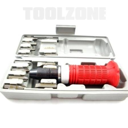 toolzone 14pc impact screwdriver kit