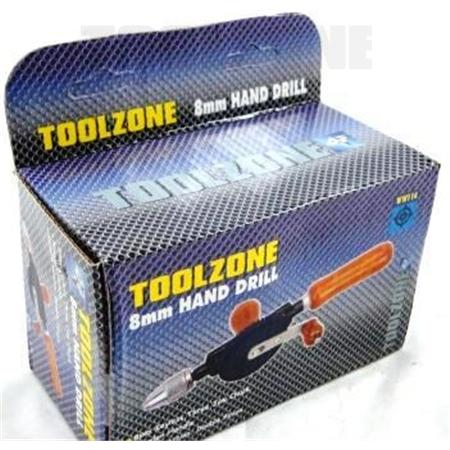 toolzone 8mm hand drill