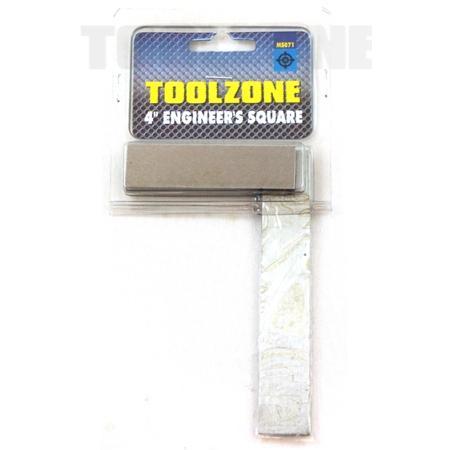 "toolzone 4"" engineer square"