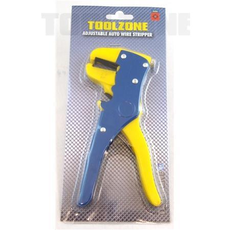 toolzone adjustable auto wire stripper