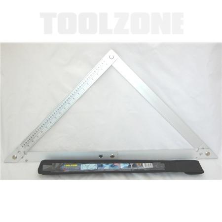 """toolzone 24"""" folding square"""